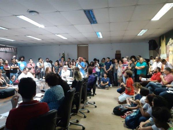 Mobilização estudantil obriga UFPI a se posicionar sobre Future-se e recentes cortes do MEC