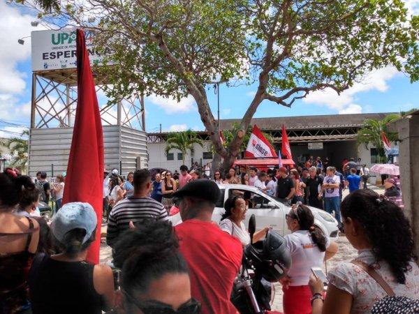 Servidores da saúde de Natal começam greve com importante manifestação na cidade
