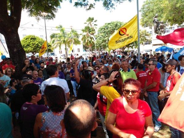 Servidores do RN denunciam Reforma da Previdência da governadora Fátima Bezerra (PT)
