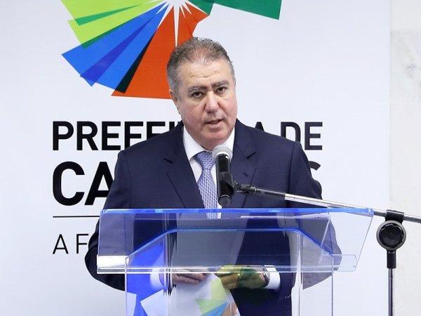 Jonas Donizette presenteia Campinas com caos sanitário e econômico