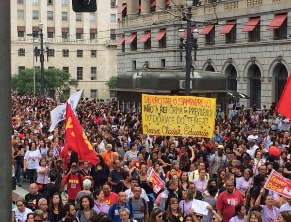 Câmara quer retomar o SAMPAPREV, SINPEEM e os sindicatos precisam organizar já a luta em comitês regionais de base