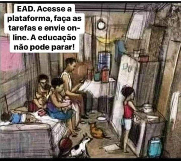 Leite quer punir com reprovação alunos por serem pobres em meio à pandemia