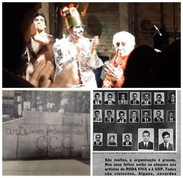 Arte de contestação: Teatro Oficina faz ensaio aberto de Roda Viva
