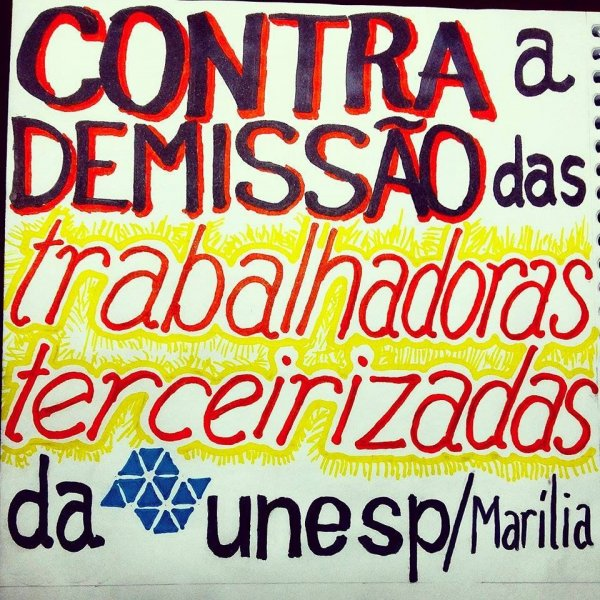 Trabalhadoras terceirizadas da Unesp de Marília serão contratados pela nova empresa